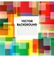 Background Rainbow Text vector image