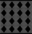 rhombus chaotic seamless pattern 102 vector image