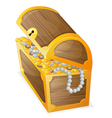a jewellery box vector image vector image
