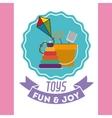 children toys design vector image vector image