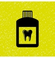 dental care icon design vector image