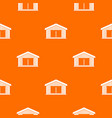 garage pattern seamless vector image vector image