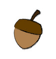 nut natural snack vector image vector image