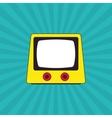 Retro tv design vector image