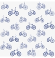 bike seamless vector image vector image