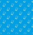 crack screen smartphone pattern seamless vector image vector image