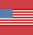 flag usa or american flag american colorful vector image vector image