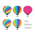 gas balloon vector image