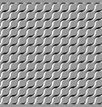grey abstract wavy 3d-like background vector image