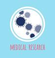 template of human virus vector image