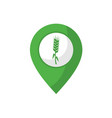 agriculture location point design vector image