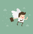 angel investor vector image