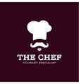chef cook logo icon toque chefs hat trend vector image vector image