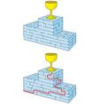 easy award podium maze vector image