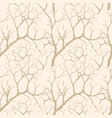 nature seamless pattern winter forest background vector image vector image