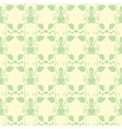 Neutral floral ornament cool green vector image vector image