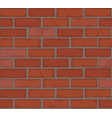 seamless brick wall pasttern vector image vector image