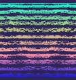 seamless striped color chalk pattern vector image