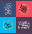 very big winter sale set on vector image vector image