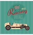 vintage sport racing cars vector image vector image