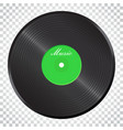 vinyl disk music disk sound record business vector image