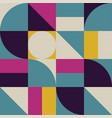 abstract background with geometry shape pattern vector image vector image