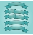 Banners or ribbons set vector image vector image