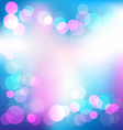 Colorful elegant abstract background with bokeh vector image