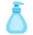 Liquid soap dispenser icon isolated