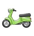 Scooter cartoon vector image vector image