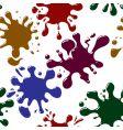splash background seamless vector image vector image