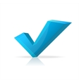 check mark Yes vector image vector image