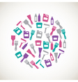 Colorful home repair icons vector image vector image
