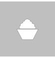 cupcake computer symbol vector image vector image