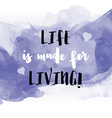 inspirational quote watercolor background 2705 vector image