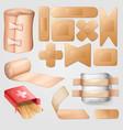 medical bandaid design set