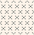 traditional ethnic crosses seamless pattern vector image vector image