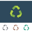 recycle sign for eco environments vector image