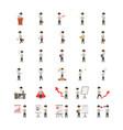 30 of businessman cartoon character vector image vector image