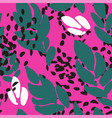 abstract print or banner vivid background pattern vector image