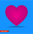 design big heart icon for template background vector image vector image