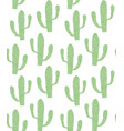 green cacti vector image