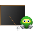 Plan evacuation from smile vector image vector image