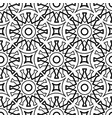 seamless geometric pattern in arabic style black vector image vector image