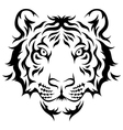 tiger tribal vector image vector image