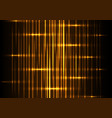 yellow light abstract background vector image vector image