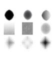 9 Circular Fades 5 vector image vector image