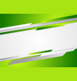 Abstract green corporate background vector image vector image