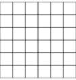 Black Grid White Background vector image vector image