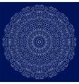 Circular lace ornament vector image vector image
